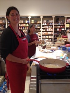 Beth at Williams-Sonoma