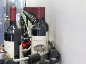 wine on its way to the box